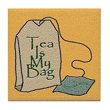 """Tea Is My Bag"" - Tile Coaster"