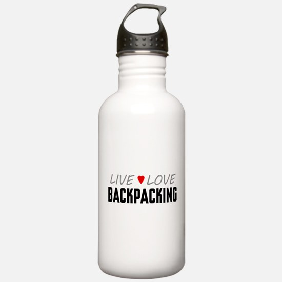 Live Love Backpacking Water Bottle