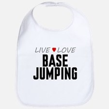 Live Love Base Jumping Bib
