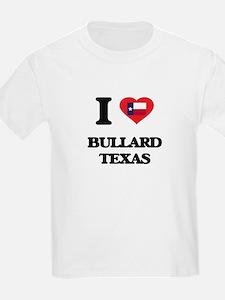 I love Bullard Texas T-Shirt