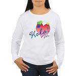 Hola! Soy de Guatemala! Women's Long Sleeve T-Shir