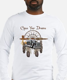 Chase Your Dreams Long Sleeve T-Shirt