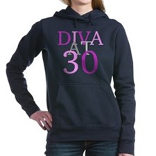 Diva At 30 Women's Hooded Sweatshirt