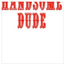 HANDSOME DUDE Poster