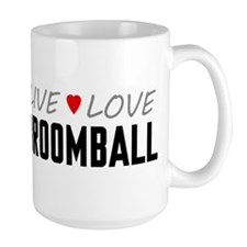 Live Love Broomball Mug