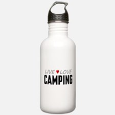 Live Love Camping Water Bottle