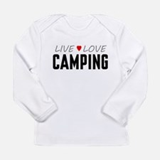 Live Love Camping Long Sleeve Infant T-Shirt