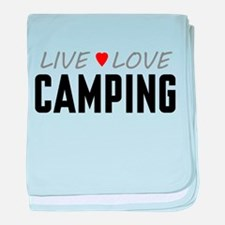 Live Love Camping Infant Blanket