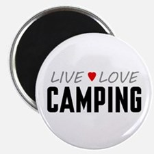 Live Love Camping Magnet