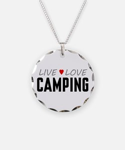 Live Love Camping Necklace