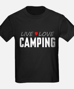 Live Love Camping T