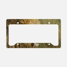 Lion License Plate Holder
