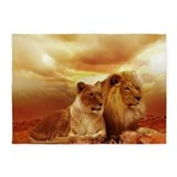Lion 5x7 Rugs