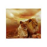 African lion Blankets