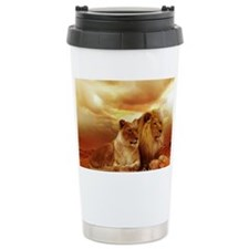 Lion Travel Coffee Mug
