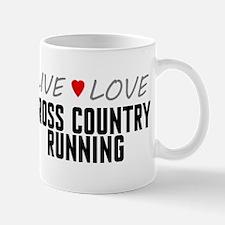 Live Love Cross Country Running Mug