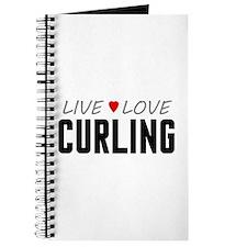 Live Love Curling Journal