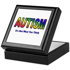 AUTISM: It's Not What You Think Keepsake Box