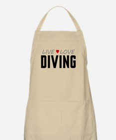 Live Love Diving Apron