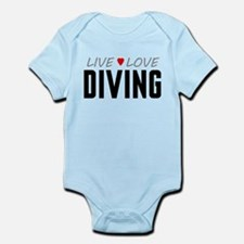 Live Love Diving Infant Bodysuit