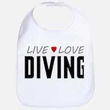 Live Love Diving Bib