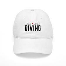 Live Love Diving Baseball Cap