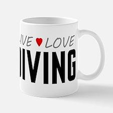 Live Love Diving Mug
