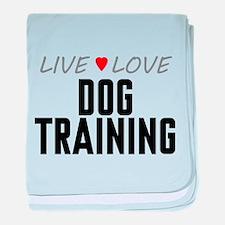Live Love Dog Training Infant Blanket