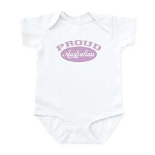 Proud Australian (pink) Infant Bodysuit