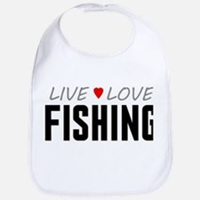Live Love Fishing Bib