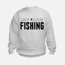Live Love Fishing Sweatshirt