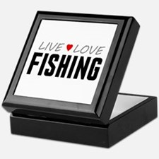 Live Love Fishing Keepsake Box