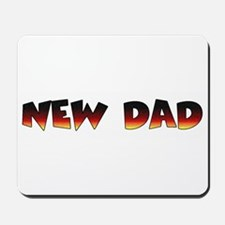 NEW DAD gift Mousepad