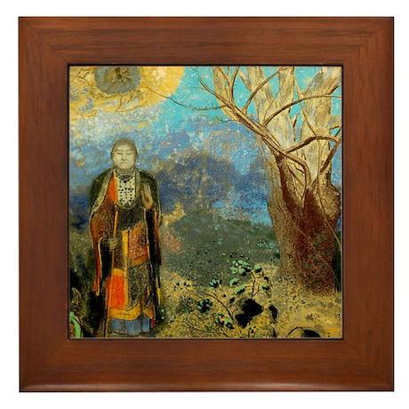 The Buddah by Redon Framed Art Tile