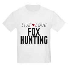 Live Love Fox Hunting T-Shirt