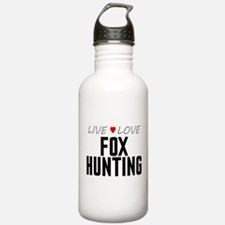 Live Love Fox Hunting Water Bottle