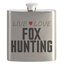 Live Love Fox Hunting Flask