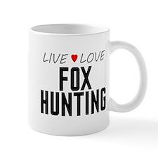 Live Love Fox Hunting Mug