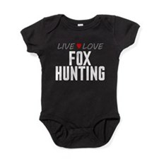Live Love Fox Hunting Baby Bodysuit