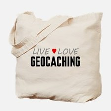 Live Love Geocaching Tote Bag