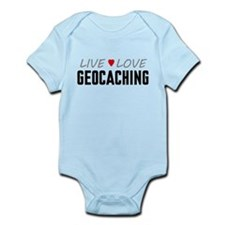 Live Love Geocaching Infant Bodysuit