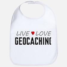 Live Love Geocaching Bib