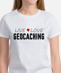 Live Love Geocaching Tee