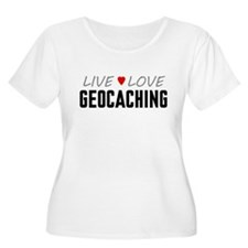 Live Love Geocaching T-Shirt