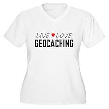 Live Love Geocaching T-Shirt