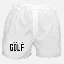 Live Love Golf Boxer Shorts