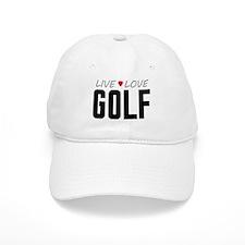 Live Love Golf Baseball Cap