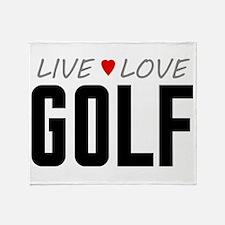 Live Love Golf Stadium Blanket
