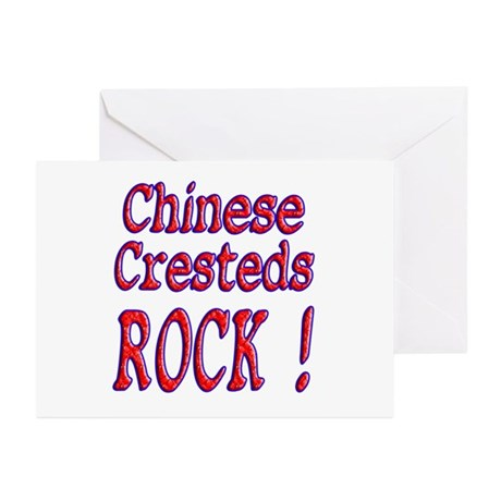 Chinese Cresteds Greeting Cards (Pk of 10)