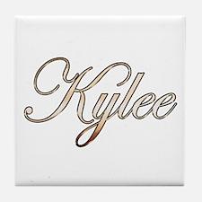 Gold Kylee Tile Coaster